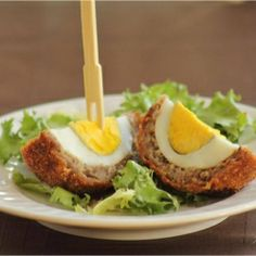 Scotch Eggs - sausage wrapped hard-boiled eggs. Perfect for parties and picnics or just because.