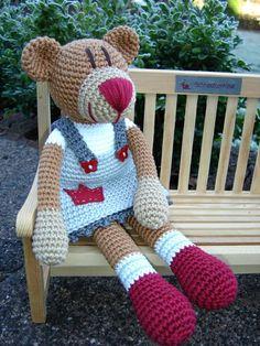Molly Bear ♥ von Schneckenkind auf DaWanda.com