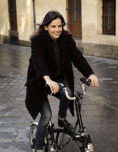 Elena Anaya. Ciclosfera | Shared from http://hikebike.net #brompton