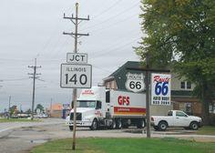 Hamel Illinois http://route66jp.info Route 66 blog ; http://2441.blog54.fc2.com https://www.facebook.com/groups/529713950495809/