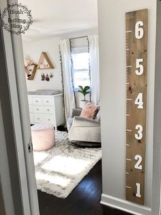 Baby Girl Nursery Tour | Neutrals, Pinks and Grey | Blush and Batting Blog