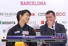 Yuzuru Hanyu GP 2015