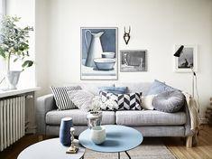 A small space in Gothenburg in neutrals. Stadshem.