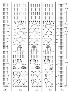 """Winter Sun - Crochet DROPS blanket with lace pattern in """"Nepal"""". - Free pattern by DROPS Design"""