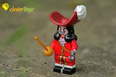 """Captain Hook: """"Peter Pan, if I were you, I'd give up! Lego Disney, Captain Hook, Peter Pan, Toys, Activity Toys, Peter Pans, Games, Toy, Beanie Boos"""