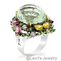 Very Green, Very Gorgeous Ring. <3