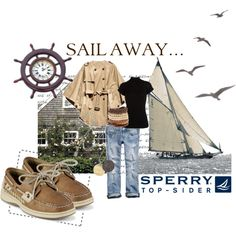 Sperry Top-Sider, created on #polyvore