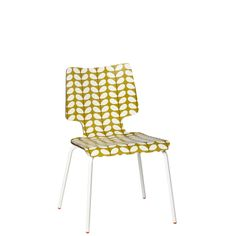Orla Kiely Stem Stacking Chair - Olive