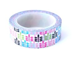 Items similar to Leaf Washi Tape / Adhesive Paper Tape / Planner Tape / Masking Tape / Scrapbooking / Gift Wrapping / / Green / Pink / Blue on Etsy Tapas, Cute Planner, Planner Ideas, Washi Tapes, Masking Tape, Arts And Crafts Supplies, Art Supplies, Cinta Washi, Cute Stationary