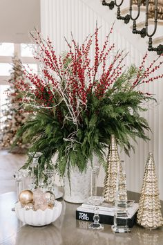 My Holiday Home Tour - Rach Parcell Merry Christmas, Christmas Time, Christmas Wreaths, Christmas Decorations, Table Decorations, Christmas Greenery, Holiday Decorating, White Christmas, Christmas Ideas