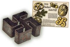 Hitler ornaments and swastika cookie cutters: How the Nazis celebrated the birth of a Jew. Click thru for the story. Social Science Project, Science Projects, Criminal Tattoo, The Third Reich, University Of Minnesota, German Christmas, Wwii, Celebrities, Cookie Cutters
