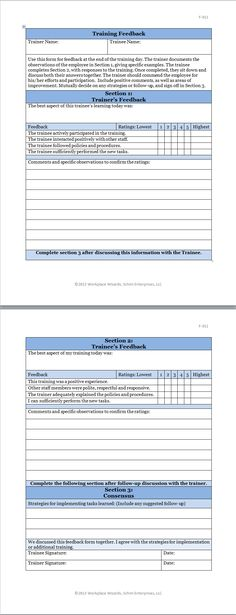 spanish phrases hotel and restaurant management - Google Search - training feedback form