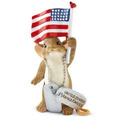 Proud to Be of Service Figurineby Charming Tails® $26.99