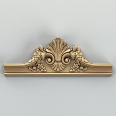 Crown 001 Model available on Turbo Squid, the world's leading provider of digital models for visualization, films, television, and games. Wooden Front Door Design, Wood Bed Design, Wooden Front Doors, Wooden Door Hangers, Wood Carving Designs, Wood Carving Art, Diy Furniture Appliques, Decorative Mouldings, Funky Furniture