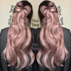Besides the awesome rose gold color by guy tang, I think that this is the best hair bow I've ever seen!