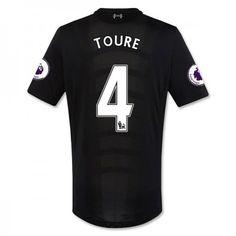 Liverpool 16-17 Kolo #Toure 4 Udebanesæt Kort ærmer,208,58KR,shirtshopservice@gmail.com