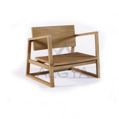 Sofa-Chair from algya-online.com made of solid teak wood.