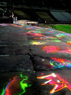 I would have love to help make the back drop for that concert! :)