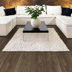 Allure - Allure Locking 7.5 in. x 48 in. Durban Oak Resilient Vinyl Plank Flooring (19.8 sq. ft./case) - 63696 - Home Depot Canada