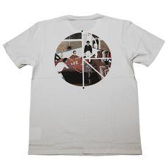 Polar AMTK Inside Out white T shirt - T Shirts - Clothing | Manchester's Premier Skateboard Shop | NOTE Skate Shop Manchester