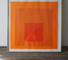 vintage Albers exhibition Poster from Paris via Etsy