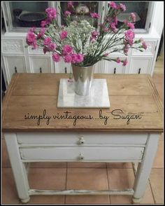 DIY Farmhouse Table with Extra Storage!