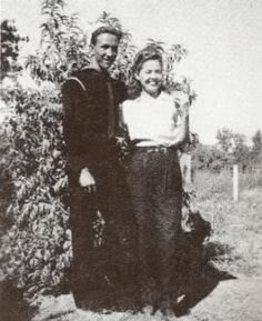 Marty Robbins Wife and Family | Marty Robbins & twin sister Mamie.jpg Marty Robbins on Bouganville.jpg