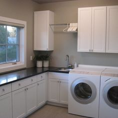 Functional Fantastic Laundry Room Contemporary Seattle Organized Es Garage