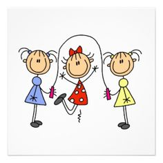 Find customizable Stick Figure Family invitations & announcements of all sizes. Doodle Drawings, Cartoon Drawings, Doodle Art, Zentangle, Nurses Week Quotes, Stick Figure Drawing, Stick Figure Family, Stick Art, Cartoon People
