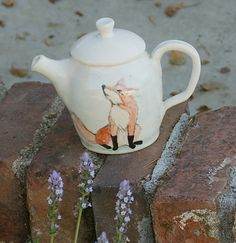 I Love Foxes! by Jessica and Bryan King on Etsy
