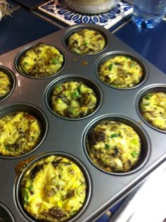 muffins aux oeufs