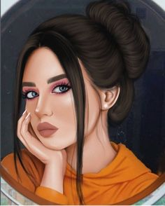 Anime Face Girl Pictures – Holiday and camping ideas Beautiful Girl Drawing, Cute Girl Drawing, Cartoon Girl Drawing, Drawing Disney, Cartoon Drawings, Girl Drawing Sketches, Girly Drawings, Girl Sketch, Drawing Art