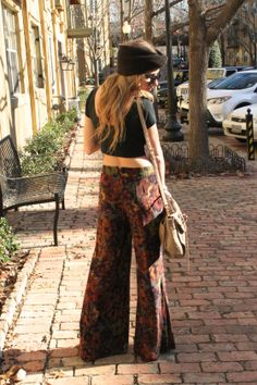 Printed Pants: highendhippie.wordpress.com