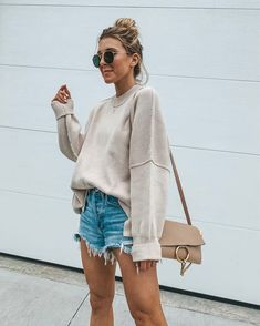 casual outfits for winter . casual outfits for women . casual outfits for work . casual outfits for school . Spring Look, Spring Summer Fashion, Winter Fashion, Ootd Spring, Summer Ootd, Summer Denim, Summer Fall, Summer Wear, Fashion 2020