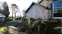 Sandstone walls. Mansion. Our Latest house extension in Clackmannanshire