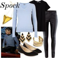 Character: Spock Fandom: Star Trek Fandom cloths  -Oh Sherlock this is so cute <3-sallykim4