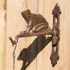 Iron Frog Plant Hanger Bracket