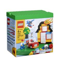 The perfect start to endless building fun!  A great introduction to LEGO® building fun, this set features regular and shaped LEGO® bricks including windows, a door, a minifigure, wheels, a propeller and a special building plate. Follow the simple instructions to build a house, car, helicopter and much more!