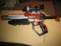 Jakks Laser Challenge Pro Rifle(2007) #jakks