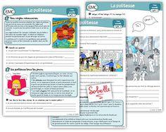 EMC cycle 3 : la politesse – La Trousse de Sobelle Home Activities, Teaching Activities, Emc Cycle 3, Cycle 2, School Organisation, Vans, French Teacher, French Class, Social Studies
