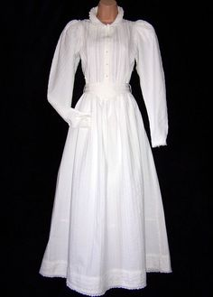 LAURA ASHLEY VINTAGE VICTORIAN/EDWARDIAN WEEDING MISTRESS BRIDESMAID DRESS 14UK