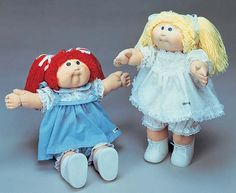 Cabbage Patch dolls! My mom says she saw a couple fights over these back at the mall in the 80's, haha!