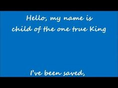 Matthew West - Hello My Name Is Lyrics) - YouTube this song is awsome