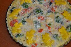 Tarta cu legume - CAIETUL CU RETETE Quiche, Eggs, Breakfast, Food, Morning Coffee, Essen, Quiches, Egg, Meals