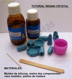 tutorial resina crystal
