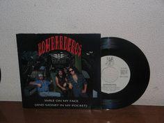 Bombarderos   7´´ Mega Rare Promo White Label Spain 1990
