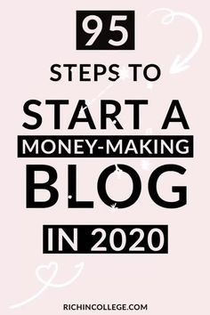 Want to finally start a blog this year? Follow this step by step guide to learn how to start a blog to make money blogging! This is the exact step by step guide for creating a new blog. From choosing a blogging platform to social media tactics and how to drive traffic, learn all the steps inside this post and start a money making blog. #howtostartablog #startablog #bloggingtips #makemoneyonline #startabusiness #smallbusiness Make Money Blogging, Way To Make Money, Make Money Online, Earn Money, Make Blog, How To Start A Blog, How To Create A Successful Blog, The Secret Money, Work From Home Jobs