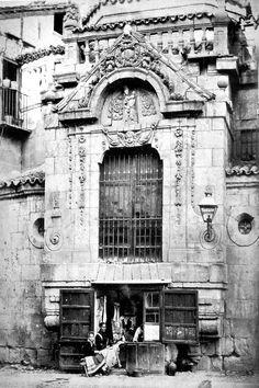 Salamanca en el ayer: Jean Poujade Costureras bajo el camarin de san martin