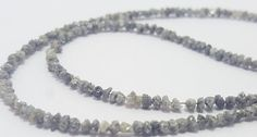 neutral Diamond AAA Quality Natural Rough Dark Gray by Jewelstar15