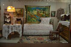 50-е годы. Кто не помнит плюшевые ковры с оленями?